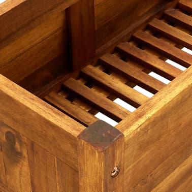 vidaxl garten bertopf akazienholz 100 x 30 x 25 cm im vidaxl trendshop. Black Bedroom Furniture Sets. Home Design Ideas
