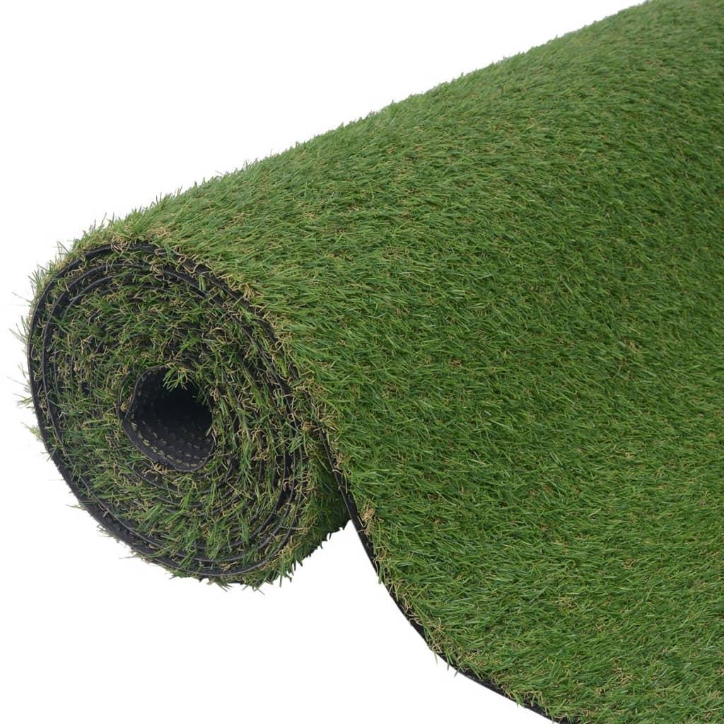 vidaXL Zöld műgyep 1,5x5 m/20-25 mm