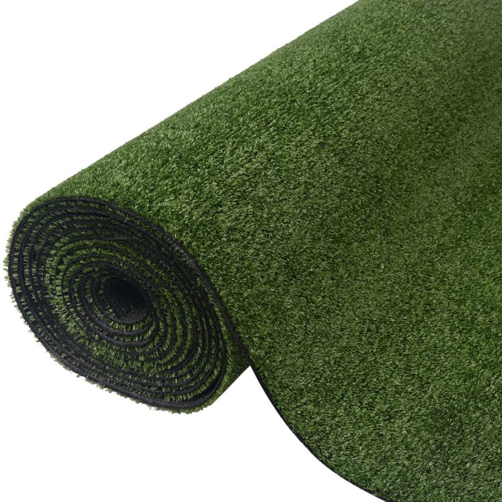 vidaXL Zöld műgyep 1,5x5 m/7-9 mm
