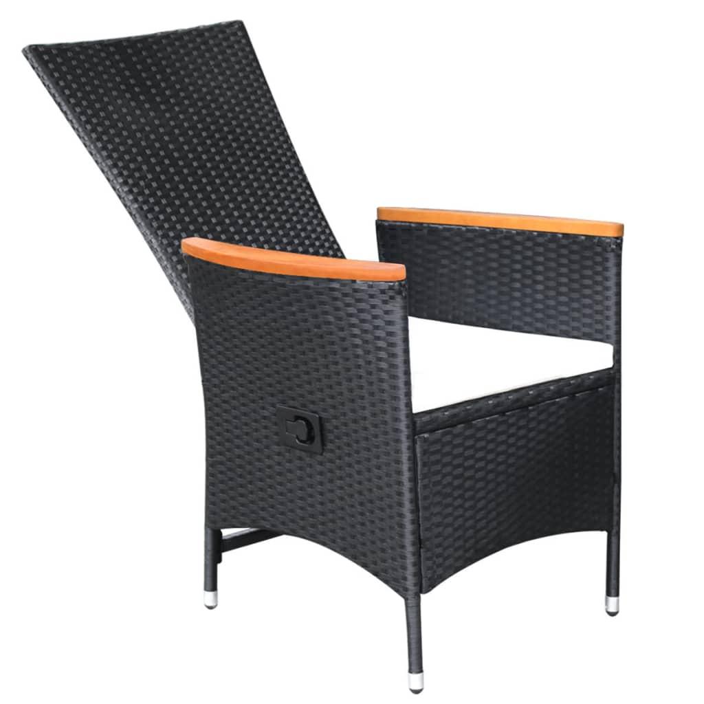 vidaxl garten essgruppe 17 tlg schwarz poly rattan akazienholz xxl g nstig kaufen. Black Bedroom Furniture Sets. Home Design Ideas