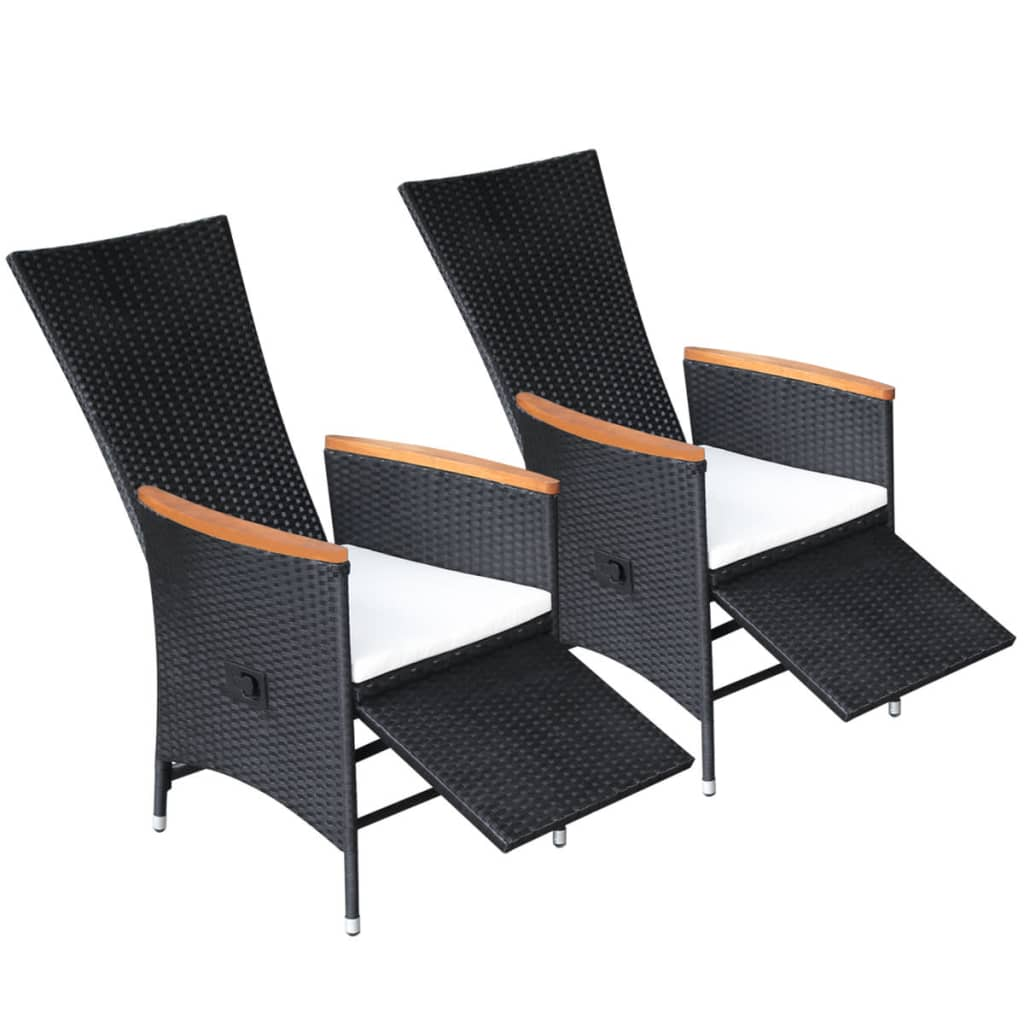 handla vidaxl matstolar f r utomhusbruk 2 st konstrotting akaciatr. Black Bedroom Furniture Sets. Home Design Ideas