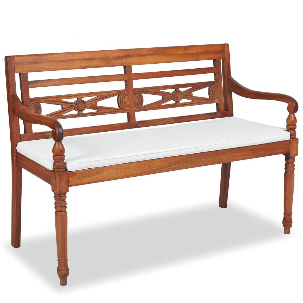 VIDAXL TEAK BATAVIA Gartenmöbel Set 7-tlg. Sitzmöbel Sitzgruppe ...