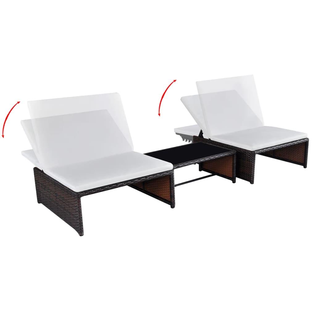 Acheter vidaxl ensemble de mobilier de jardin 2 places for Acheter mobilier de jardin