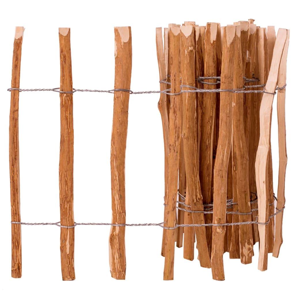 vidaXL mogyorófavessző kerítés 60 x 500 cm