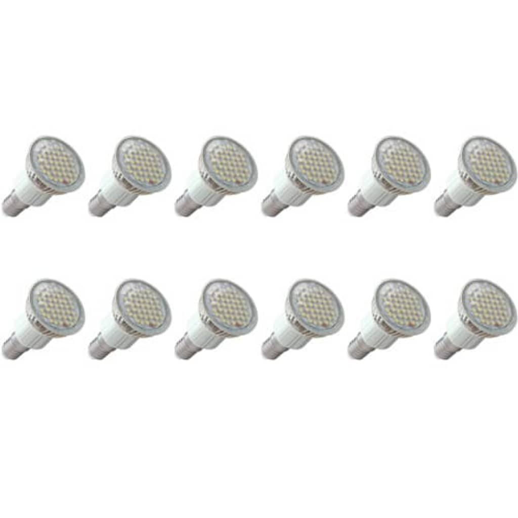 LED spotlights 12 x 3W (E14)