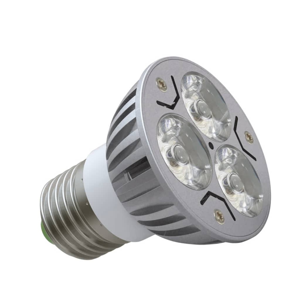 LED spotlights 12 x 3W (E27)