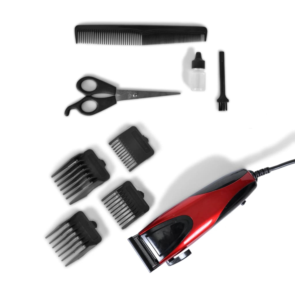 Dog Grooming In Riga: Professional Animal Dog Pet Clippers Grooming Kit 9 PCS