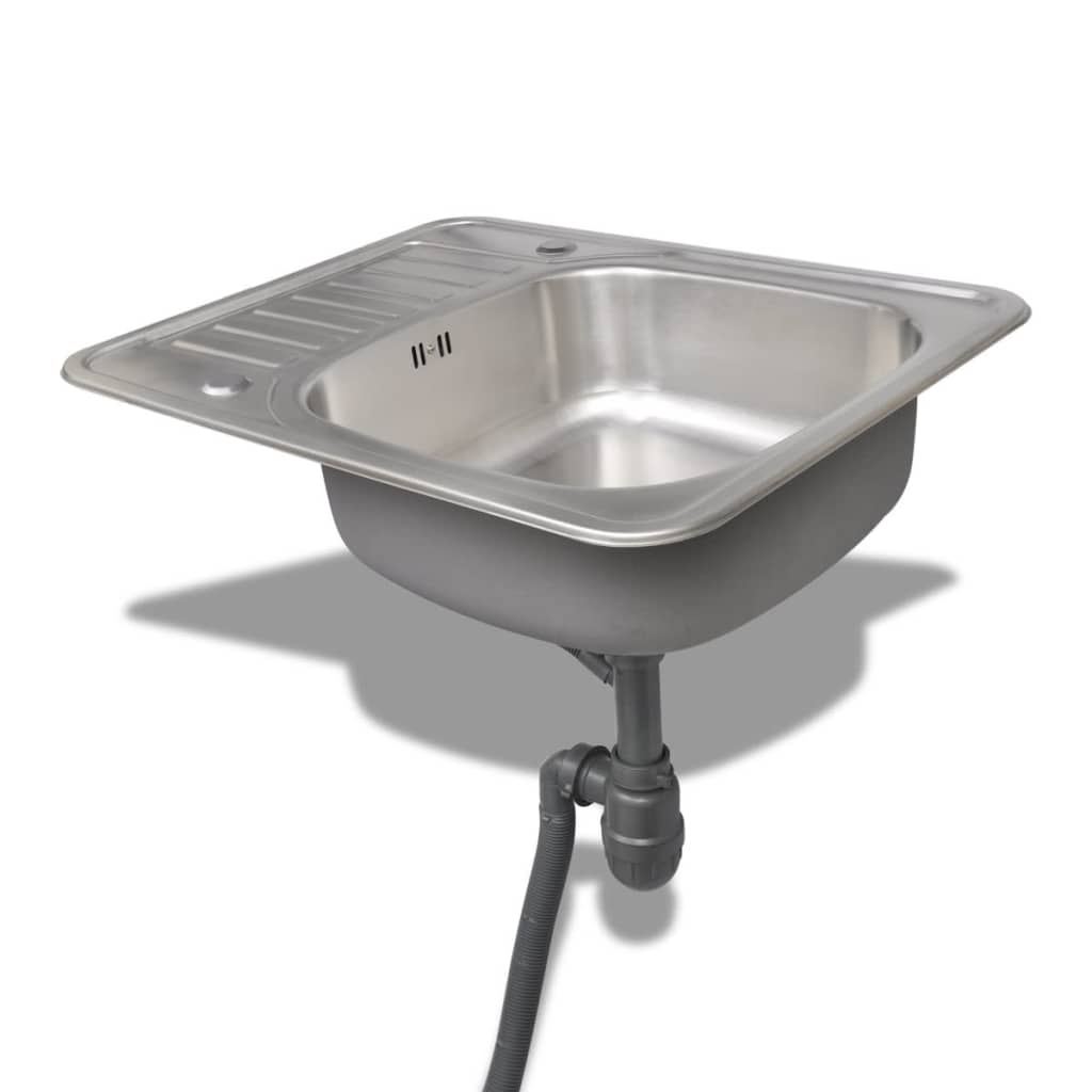 kitchen sink with side drain board new square kitchen sink stainless steel with drain 9587