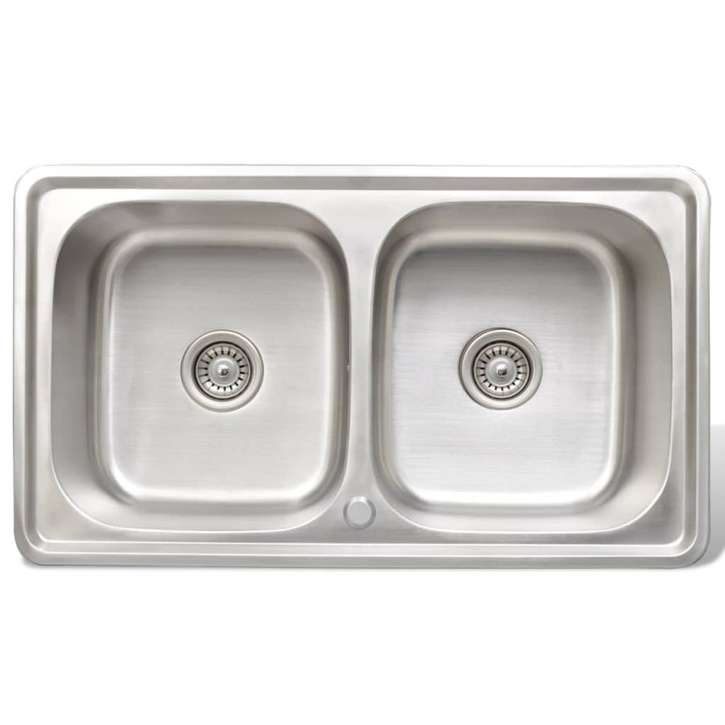 kitchen sink stainless steel square with