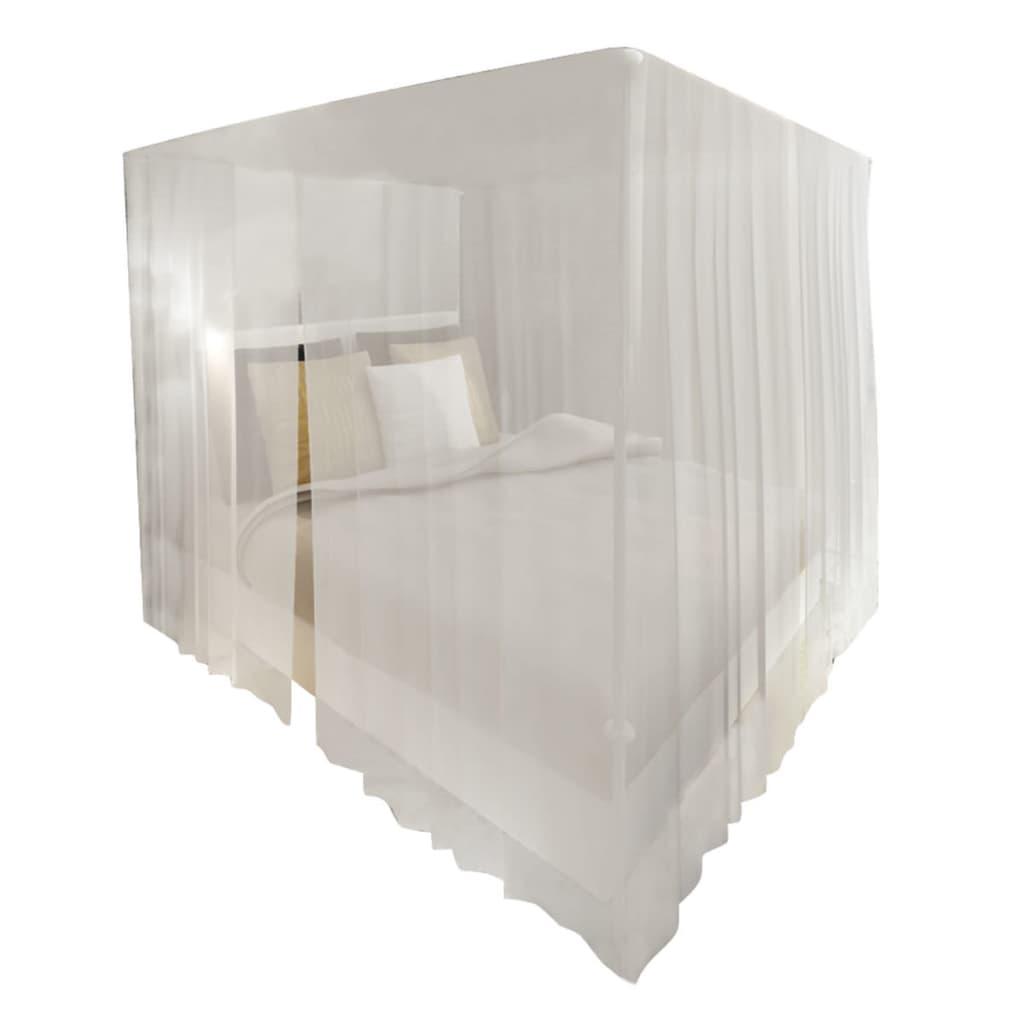 Articoli per set zanzariere quadrate per letto con aperture 2 pezzi - Zanzariere da letto ...