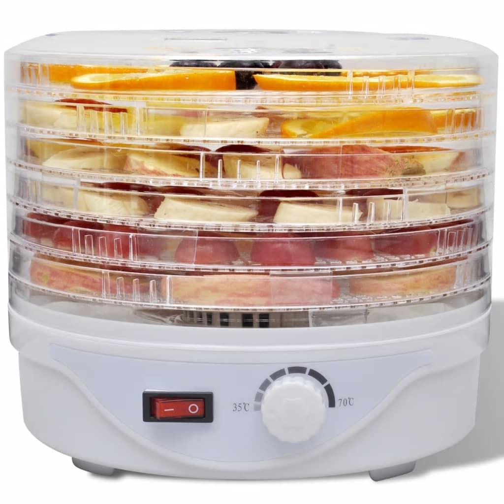Droogoven-voor-voedsel-met-6-stapelbare-lades-Rond-voedsel-dehydrator
