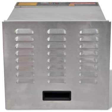 Dehidrator za sušenje hrane od nehrđajućeg čelika, 10 polica[4/6]