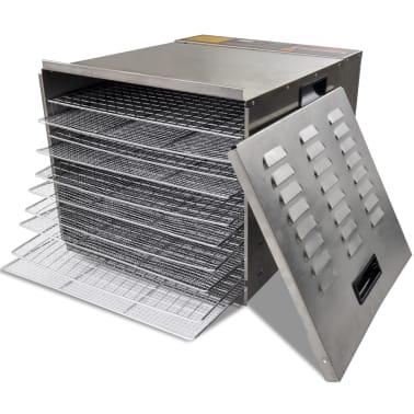 Dehidrator za sušenje hrane od nehrđajućeg čelika, 10 polica[5/6]
