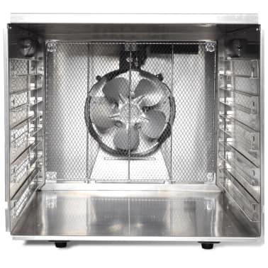 Dehidrator za sušenje hrane od nehrđajućeg čelika, 10 polica[3/6]