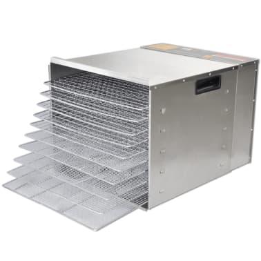Dehidrator za sušenje hrane od nehrđajućeg čelika, 10 polica[2/6]