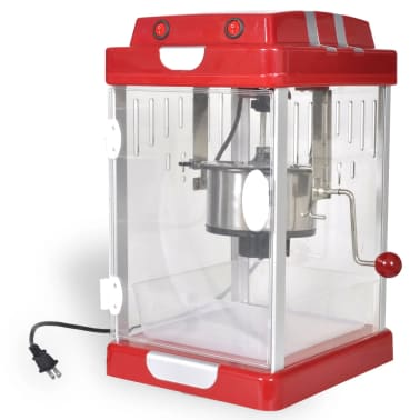 Theater-Style Popcorn Popper Machine 2.5 oz [1/6]