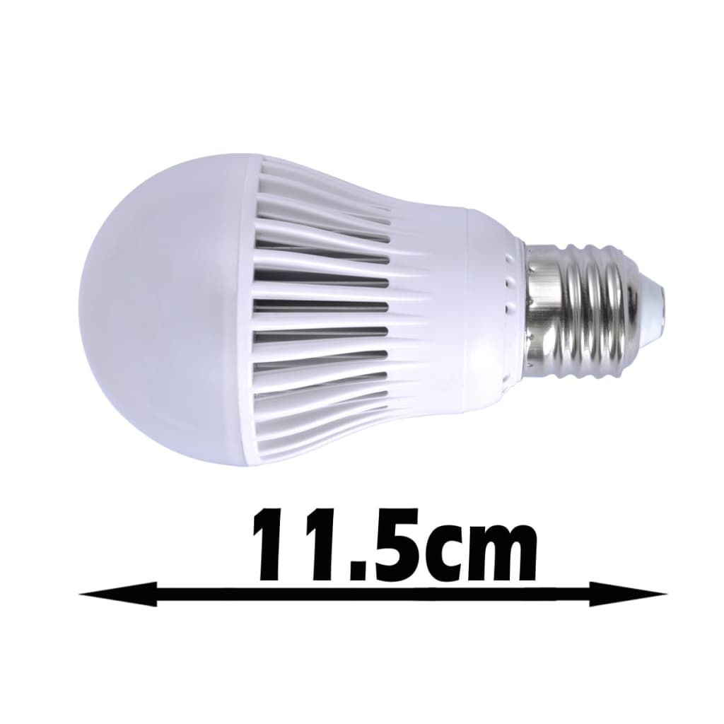 La boutique en ligne 6pcs ampoule led 7w blanc chaud forme for Ampoule led jardin