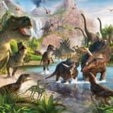 Walltastic Behang Dinosaurussen XXL - behang - 305 x 244 cm