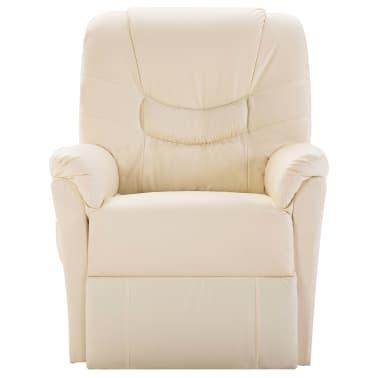 La boutique en ligne fauteuil relax massant blanc cr me delux - Solde fauteuil relax ...