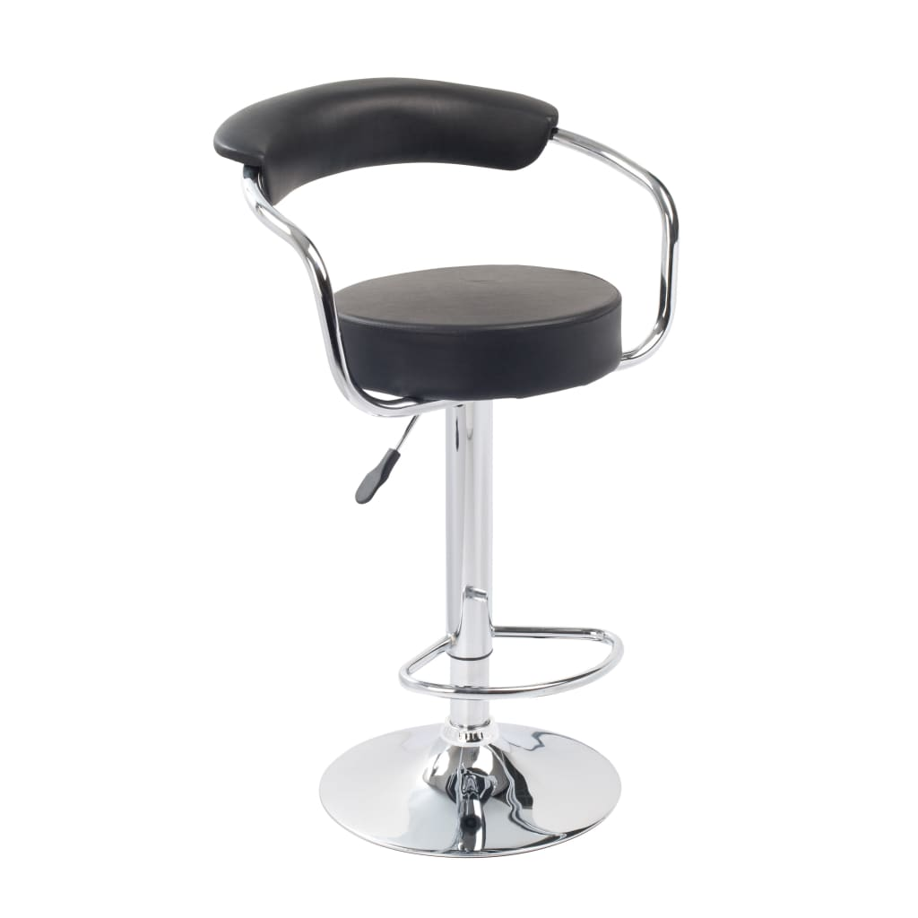 acheter tabouret design retro lot de 2 noir pas cher. Black Bedroom Furniture Sets. Home Design Ideas