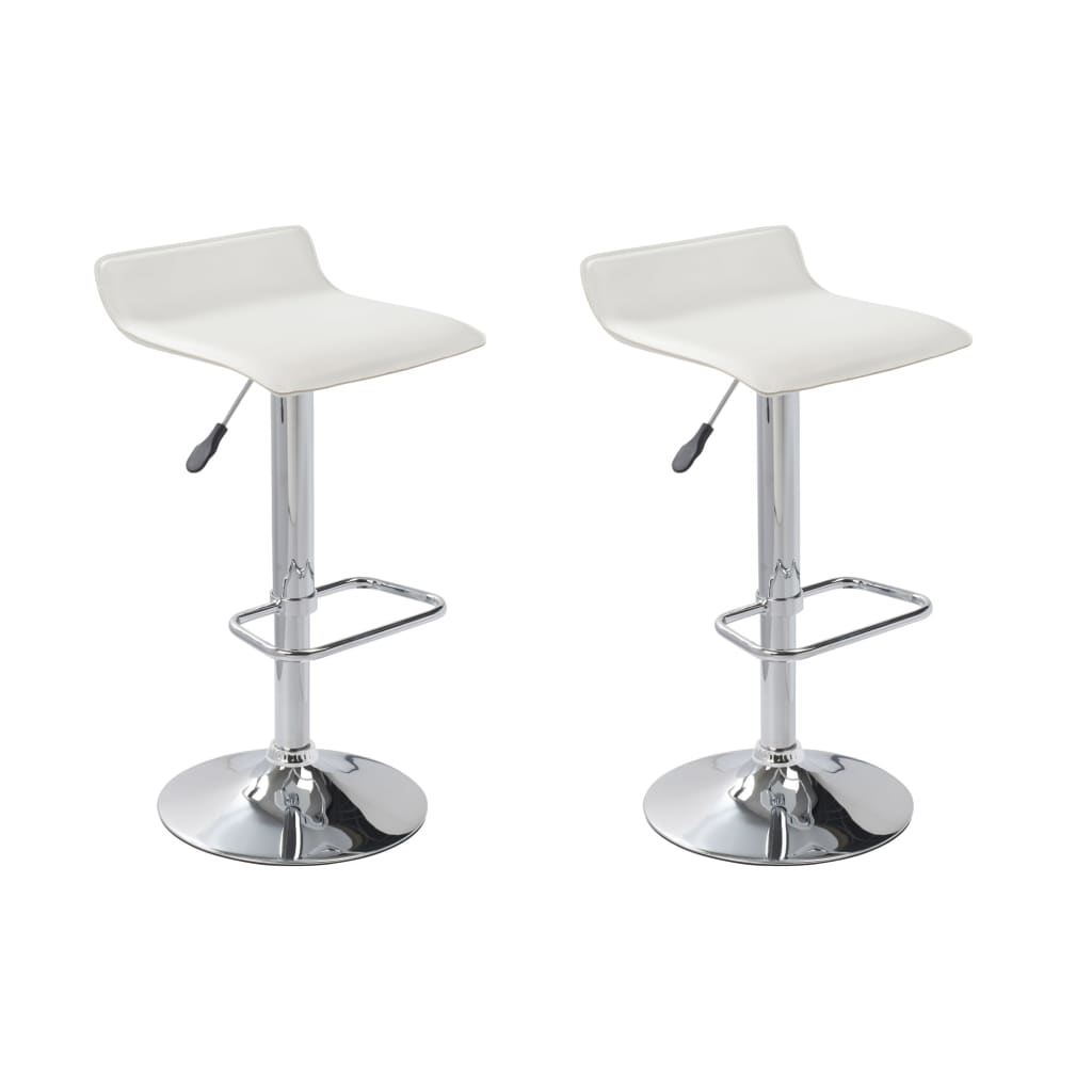 la boutique en ligne tabouret design texas blanc lot de 2. Black Bedroom Furniture Sets. Home Design Ideas