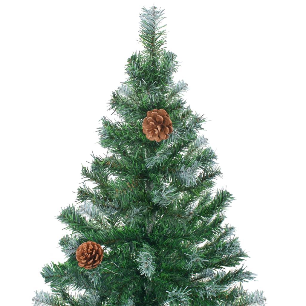Acheter vidaxl arbre de no l artificiel avec pommes de pin for Arbre artificiel exterieur pas cher