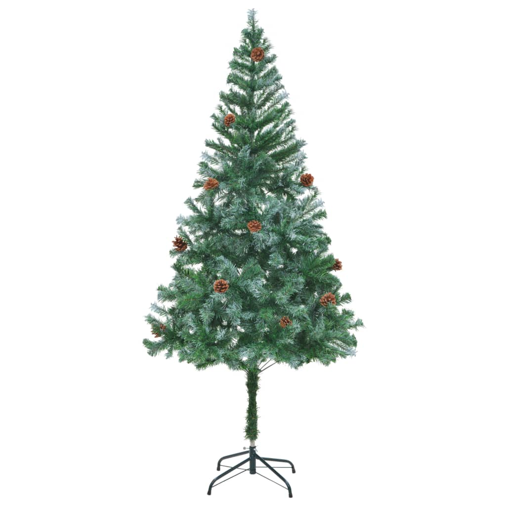 Acheter vidaxl arbre de no l artificiel avec pommes de pin for Arbre artificiel de noel