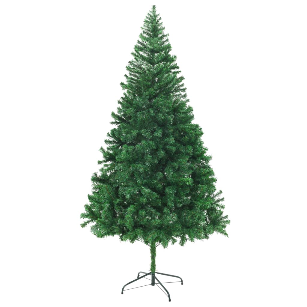 Vidaxl artificial christmas tree thick branches cm