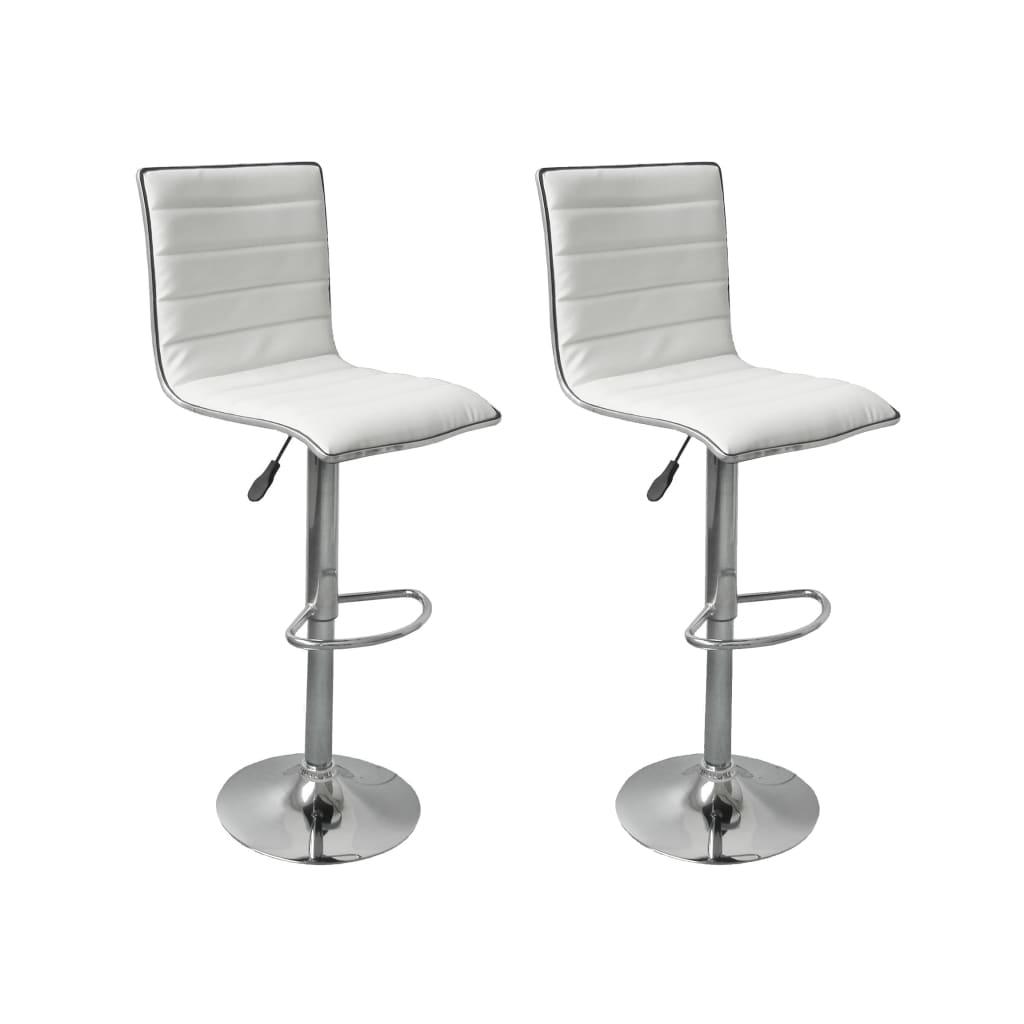 Articoli per sgabelli sedie cucina o bar oslo eco pelle 2 bianchi - Sgabelli da cucina ...