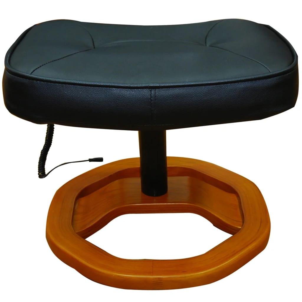 La boutique en ligne fauteuil noir massant avec repose - Fauteuil massant suisse ...