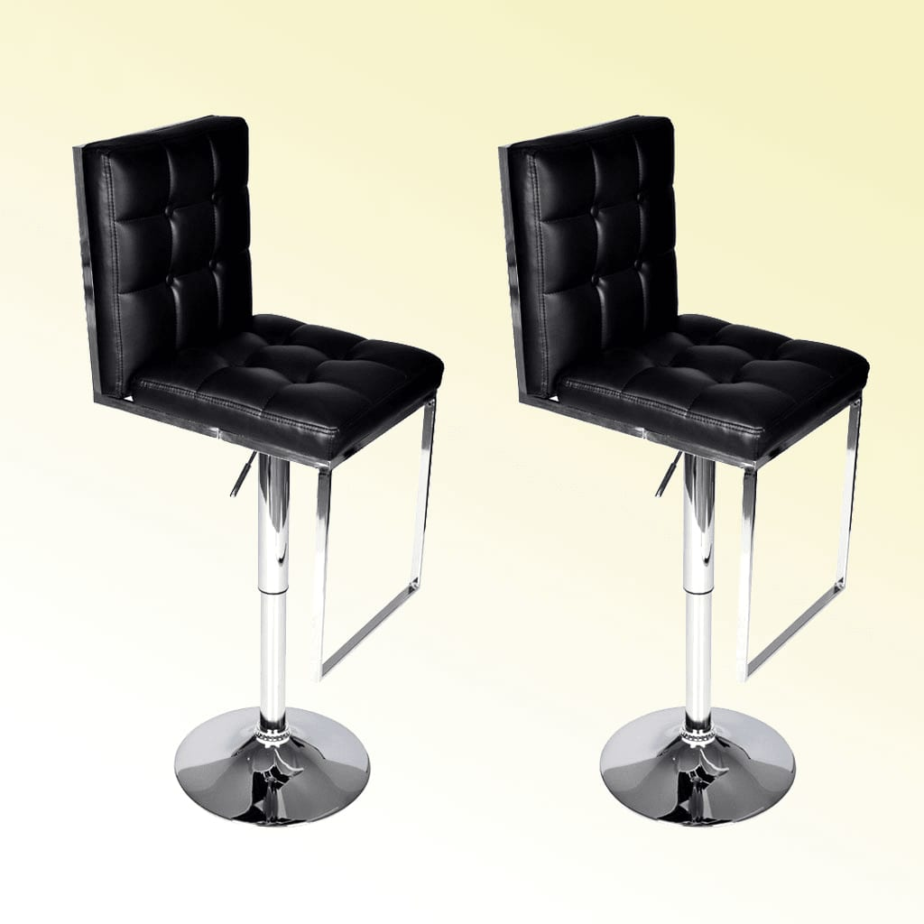 Der barhocker atlanta 2er set schwarz online shop for Barhocker shop
