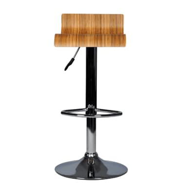 Two Contemporary Wooden Bar Stools[2/7]