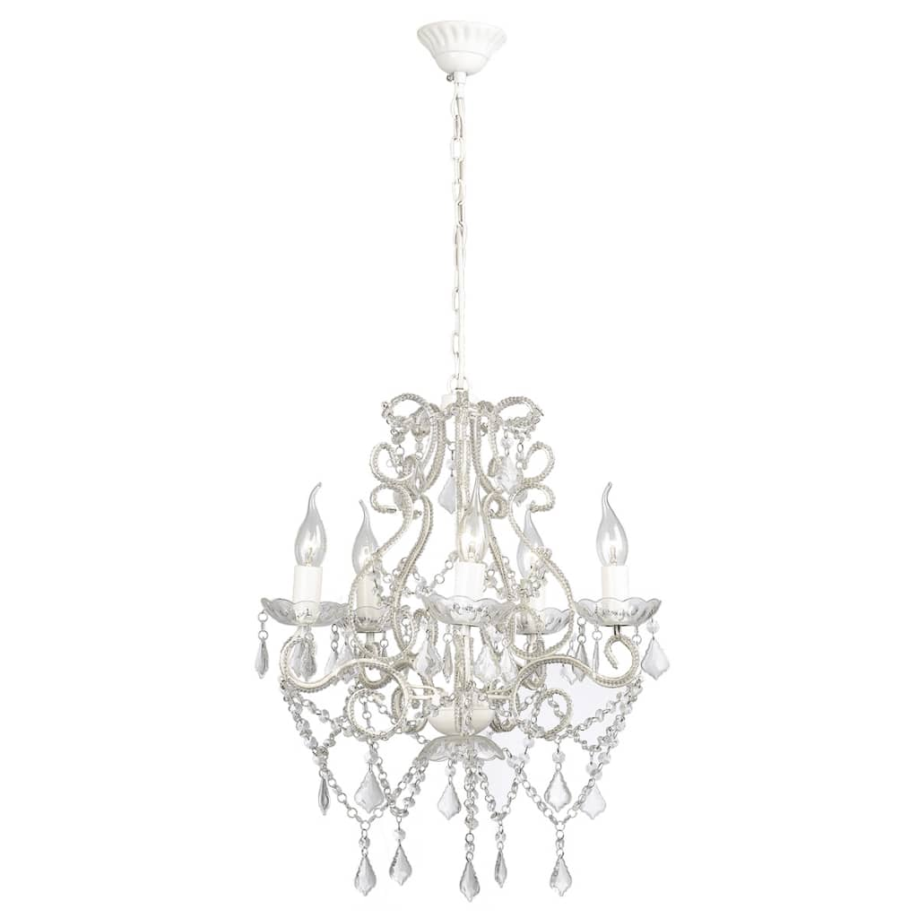 vidaXL-Chandelier-with-2800-Crystals-E14-Ceiling-Pendant-Lighting-Lamp-Candle