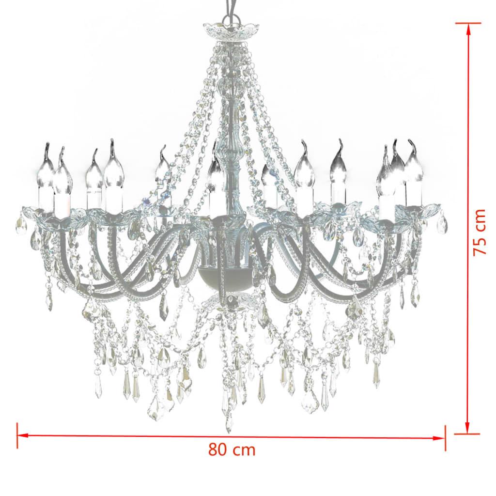 vidaXL-Lampara-de-arana-de-1600-cristales-Luz-Techo-Suspension-Lampara-Colgante