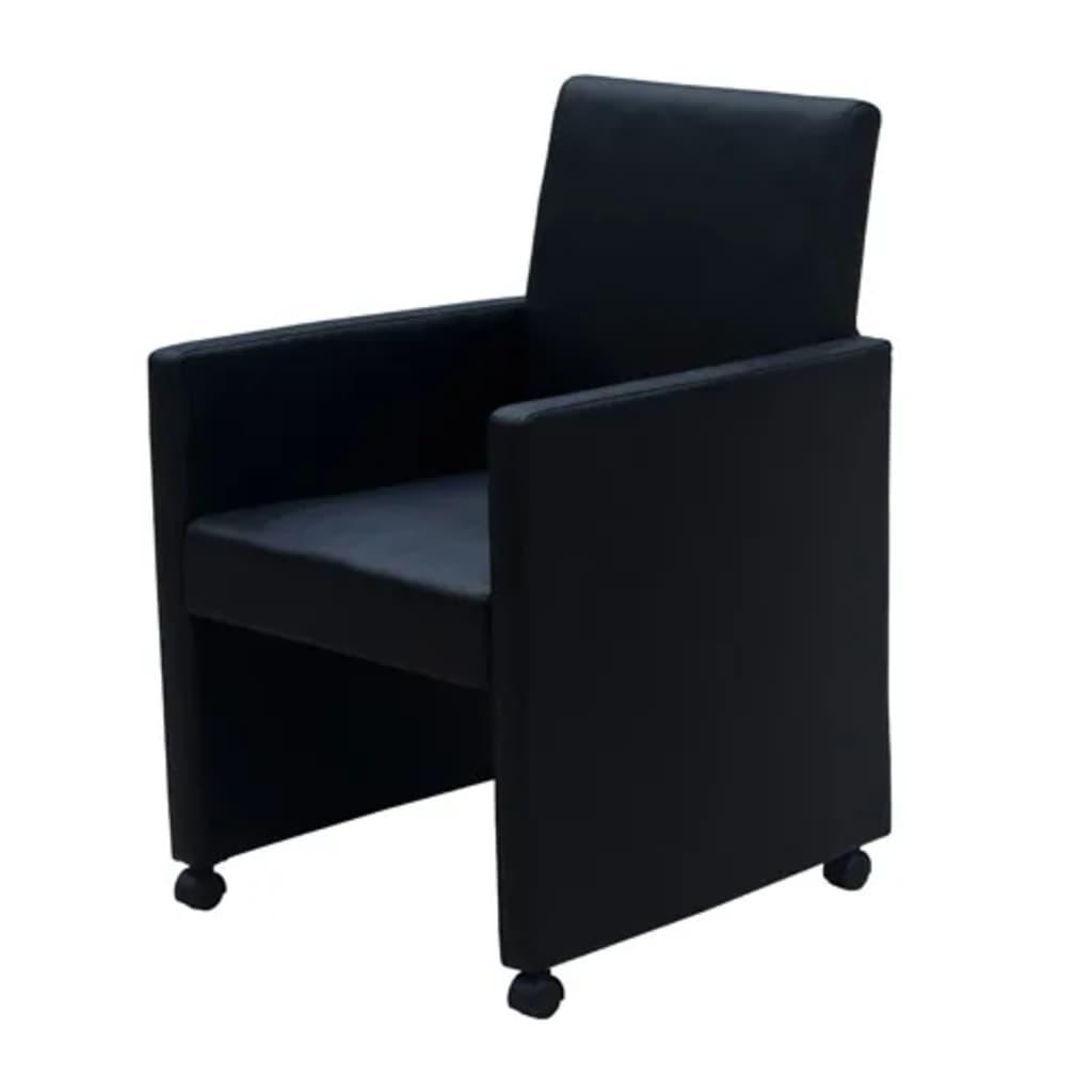 Salle A Manger H&h 2 fauteuils de salon h&h arthur moreno/inox en cuir blanc