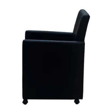 articoli per sedie-poltroncina braccioli soggiorno e cucina 2, in ... - Sedie Per Soggiorno In Pelle 2