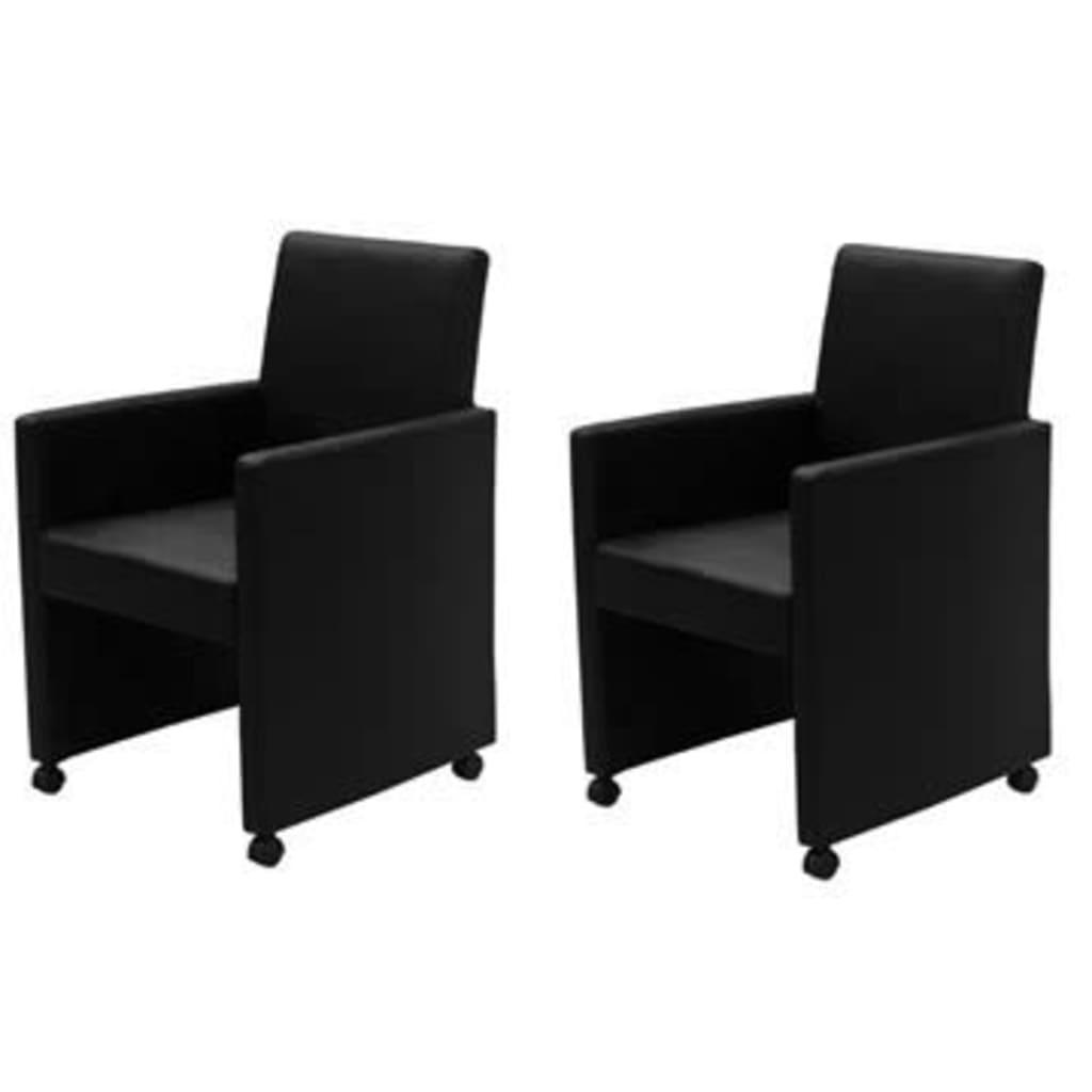 Der esszimmerstuhl set 2 stk schwarz online shop for Esszimmerstuhl set