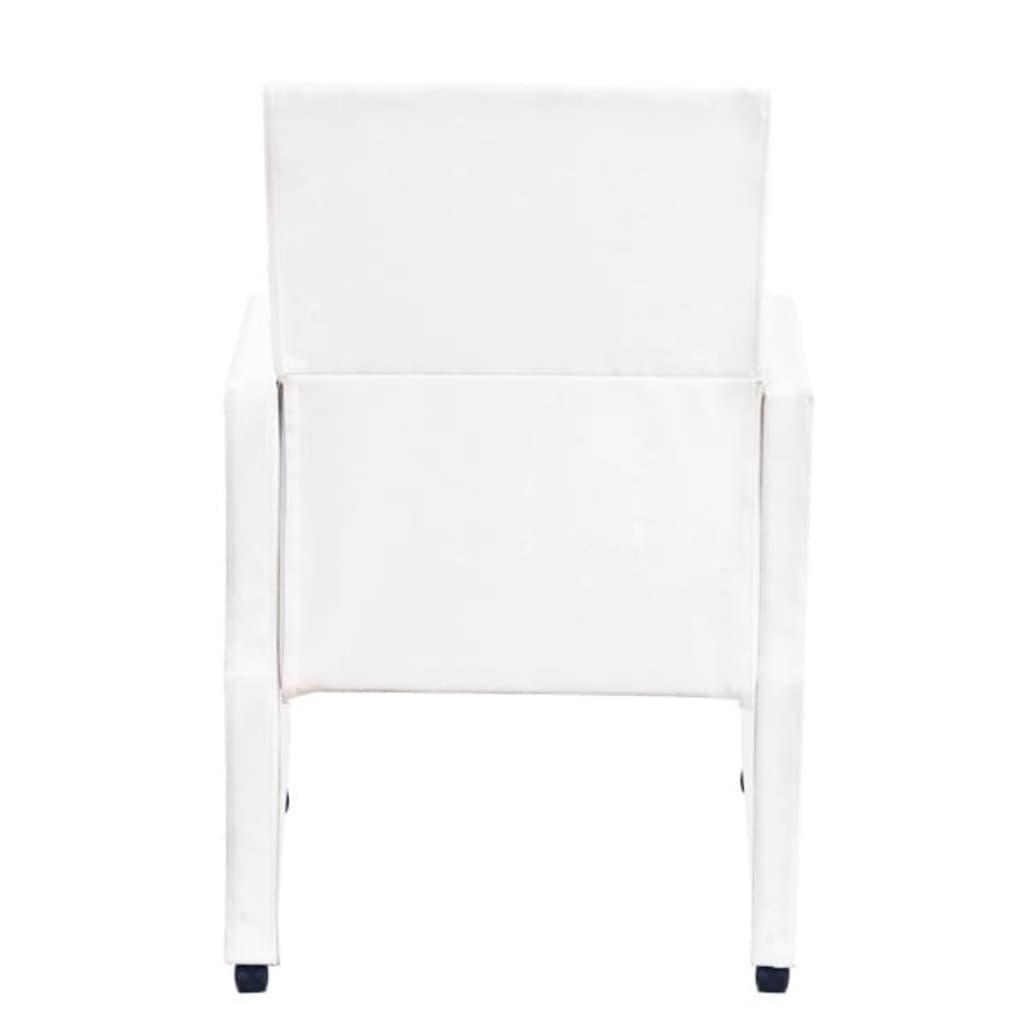 Sedie poltrone braccioli soggiorno e cucina 2 pelle for Poltrone e sedie