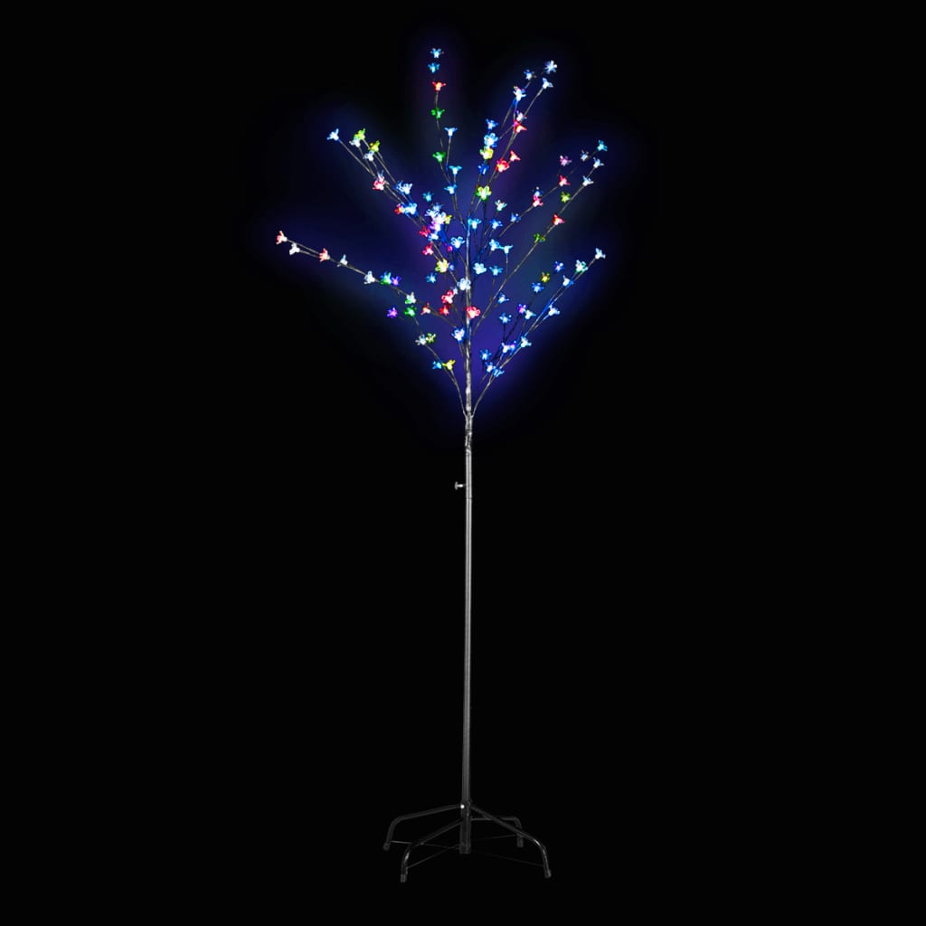 acheter arbre lumineux led 180 cm clignotant multicolore. Black Bedroom Furniture Sets. Home Design Ideas