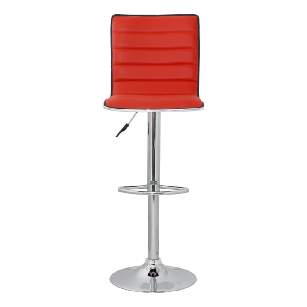 Articoli per sgabelli sedie cucina o bar oslo eco pelle 2 for Sgabelli rossi