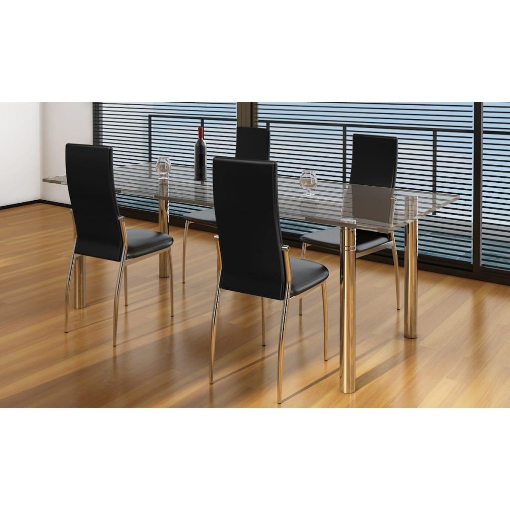articoli per sedie moderne cucina e pranzo 4 pelle e