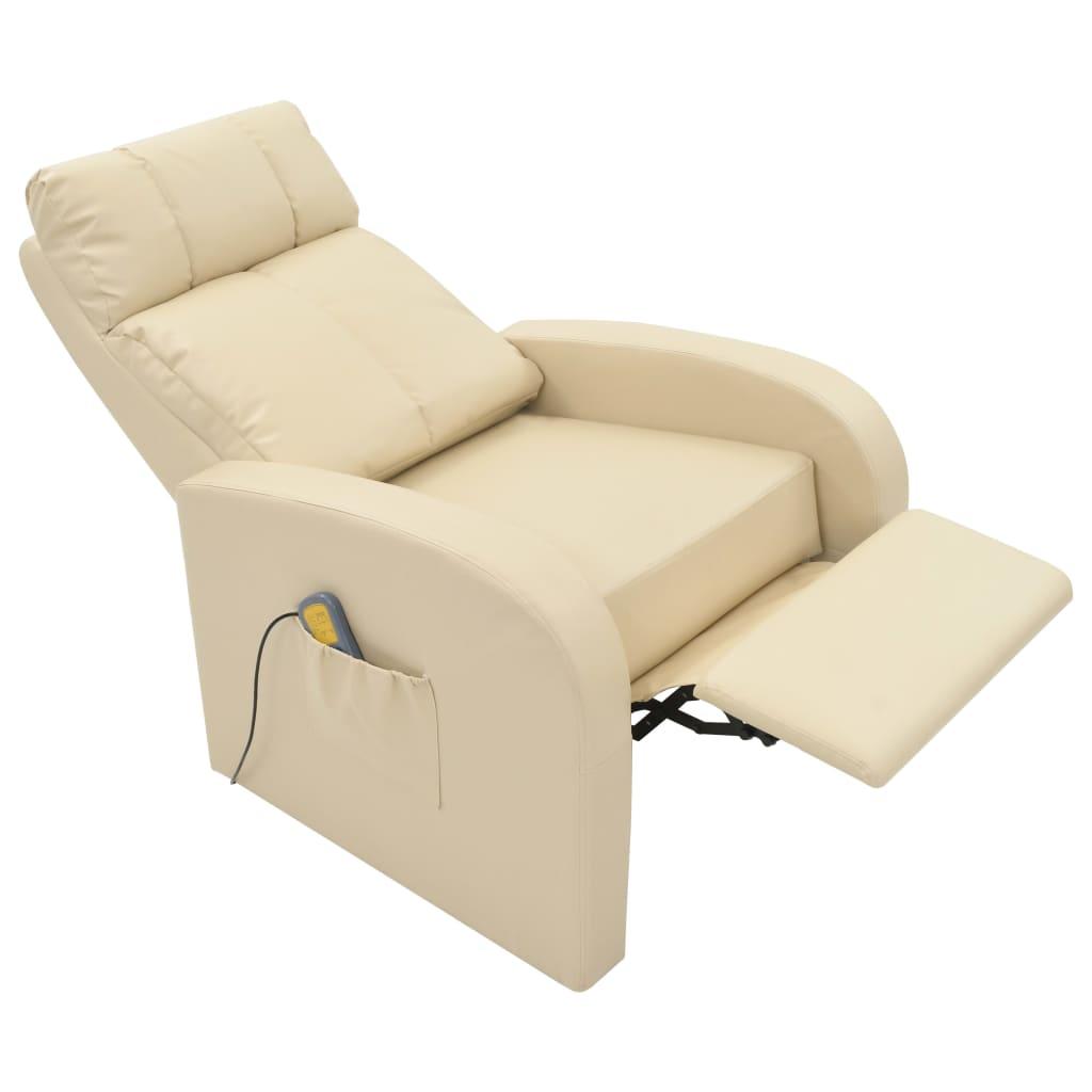 Acheter fauteuil confort massant blanc cr me pas cher - Fauteuil massant suisse ...