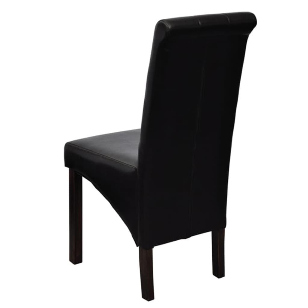 der esszimmer st hle klassik 2 stk schwarz online shop. Black Bedroom Furniture Sets. Home Design Ideas