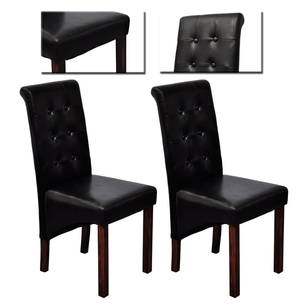 esszimmer st hle klassik 2 stk schwarz g nstig kaufen. Black Bedroom Furniture Sets. Home Design Ideas