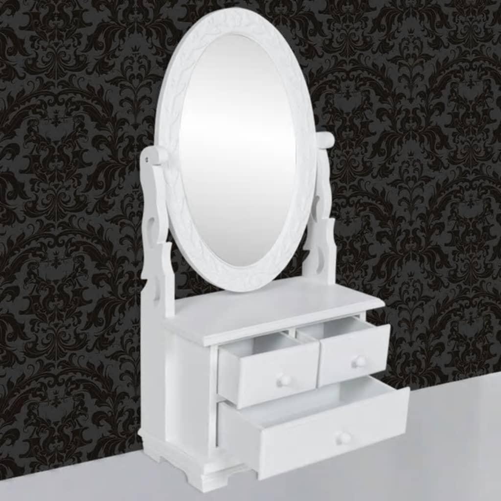 der schminkkommode schminktisch spiegel braun barock holz online shop. Black Bedroom Furniture Sets. Home Design Ideas