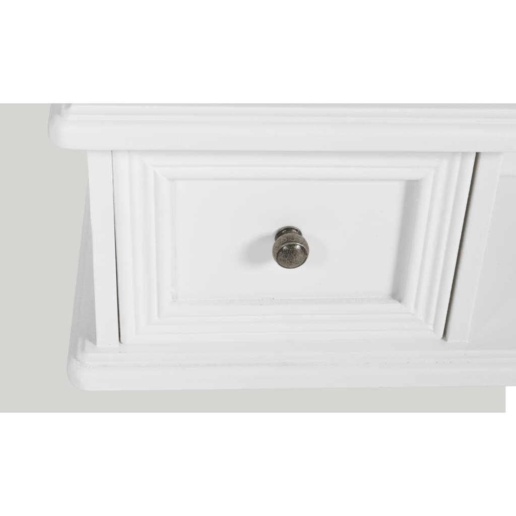 Tavolo make up stile classico con specchio oscillante bianco - Specchio make up ...