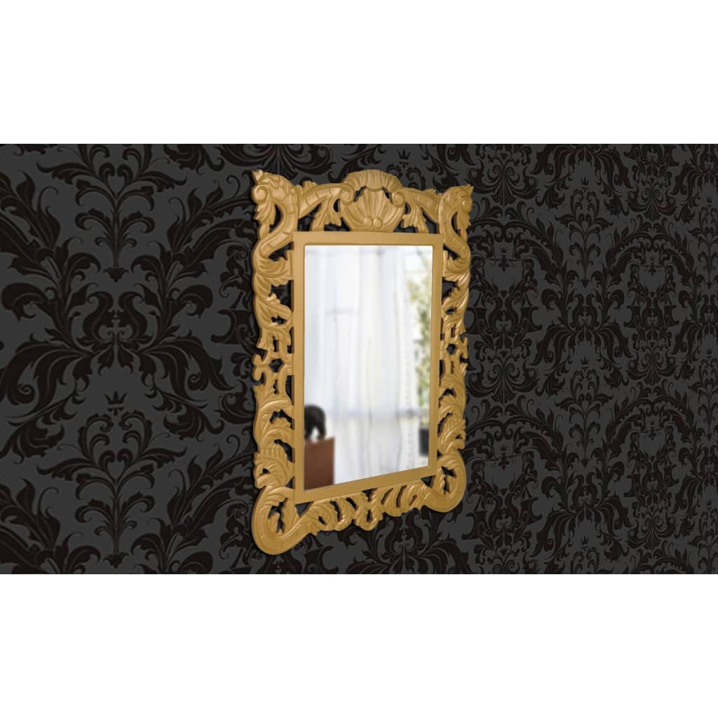 acheter miroir mural de style baroque pas cher. Black Bedroom Furniture Sets. Home Design Ideas