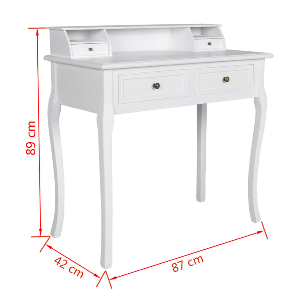acheter vidaxl table de maquillage luxueux moderne pas cher. Black Bedroom Furniture Sets. Home Design Ideas
