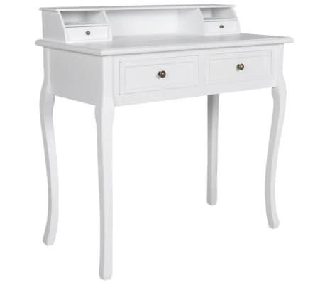 Toaletní stolek bílý