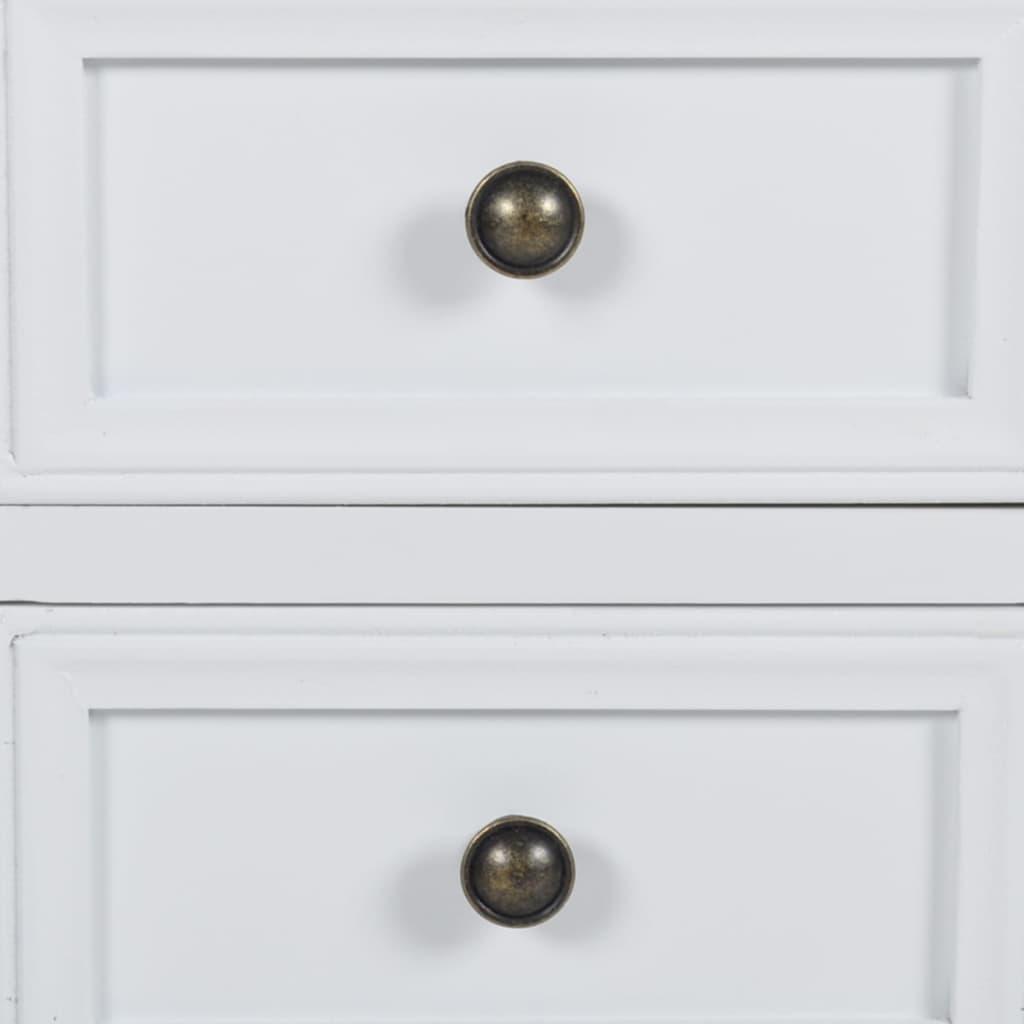 la boutique en ligne table de chevet en pin bross avec 2. Black Bedroom Furniture Sets. Home Design Ideas